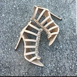 Shoes - Cage heels